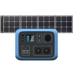Bluetti AC50S -комплект с солнечной панелью 120W